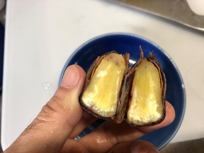 栗 くり 圧力鍋 レシピ  IMG 7013