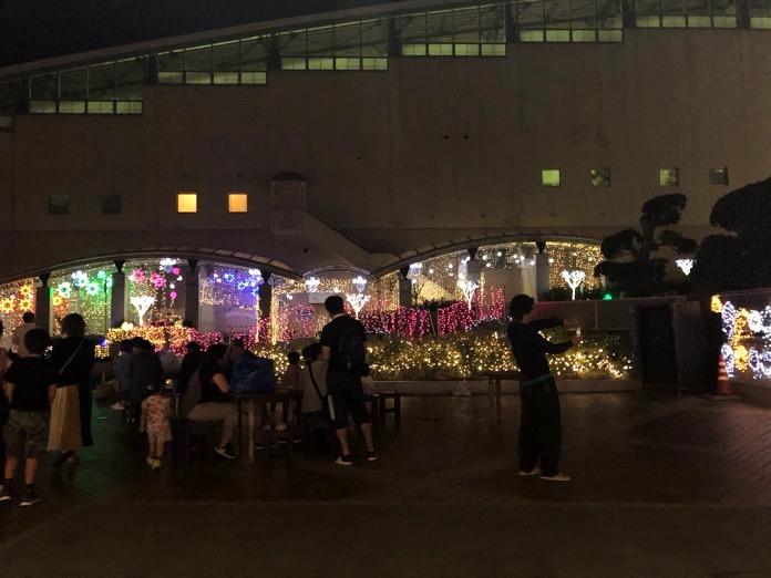 杉乃井ホテル プロジェクション マッピング 場所 IMG 7566