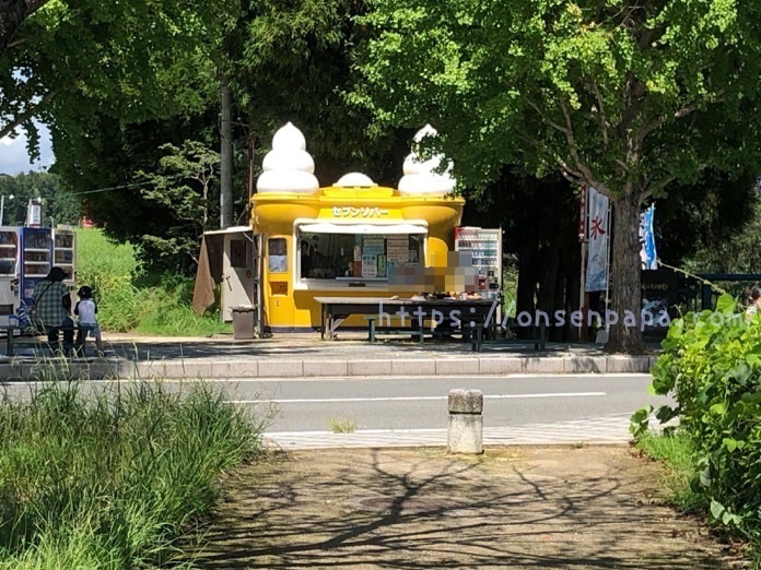 七瀬川自然公園 売店 セブンリバー  IMG 5081