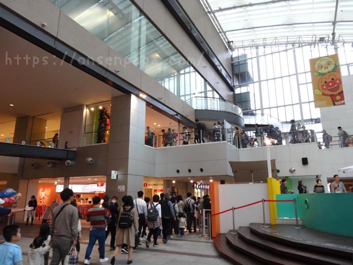 アンパンマン ミュージアム 福岡 混雑状況  DSC03921