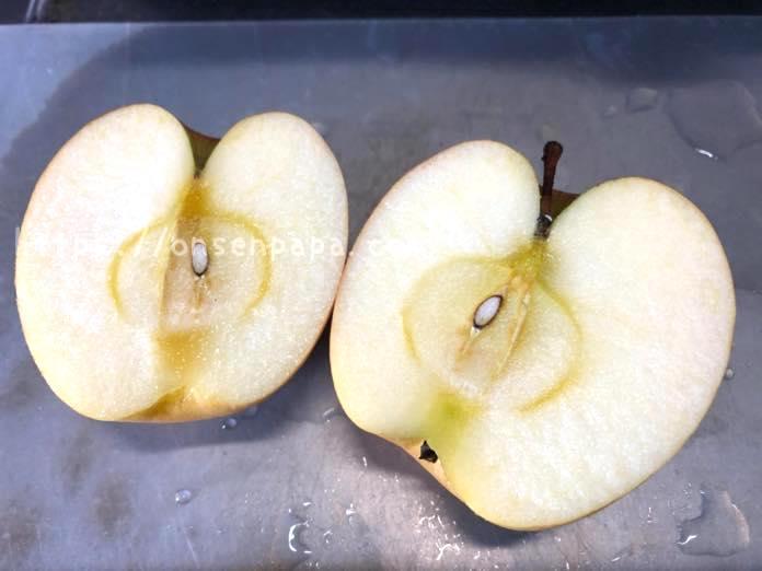 りんご 赤ちゃん  離乳食 いつから IMG 6812